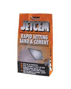 Everbuild Jetcem Premix Rapid Setting Sand and Cement Mix 6kg