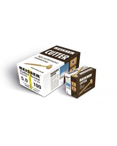 Box 200 Reisser R2 Cutter Yellow H/P Wood Screw 5.0x100mm