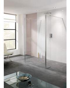 Lakes Riviera Walk In Shower Panel 1400x2000mm - LK811140S