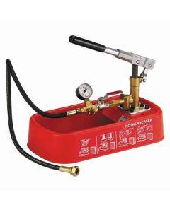 Rothenberger RP30 Pressure Testing Pump (0-30Bar) - 6.1130