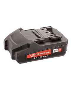 Rothenberger Romax Compact TT Battery 1000001652