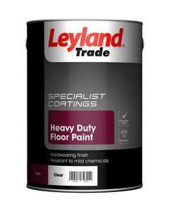 Leyland 5L Heavy Duty Floor Paint Tile Red 264621