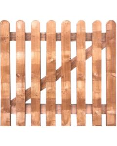 Picket fencing Gate