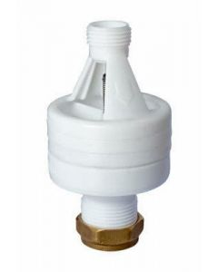 Hotun Dry Trap Tundish White 15x22mm - HW100C