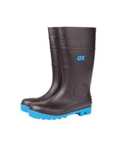 Ox Safety Wellington Boot Black