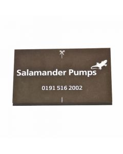 Salamander Noise Reducing Anti-Vibration Pump Mat 250x160mm - ACCPUMPMAT