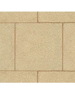 Stonemarket Standard Textured Paving 450x450x32mm Buff - KF5800031