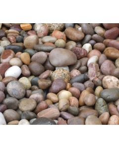 Scottish Pebbles 20-60mm-25kg - Poly Bag