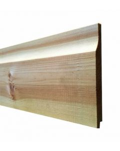 Lm 19x125mm Treated Softwood Rebated Shiplap fin sizes 14x119mm