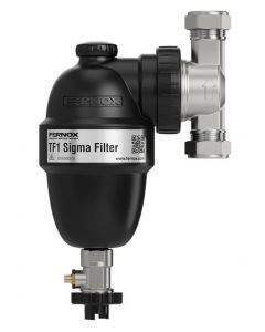Fernox TF1 Sigma 22mm Filter with Slip Socket Connections