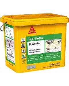 Sika All Weather FastFix Jointing Compound 14kg Grey - SKFFIXGY14