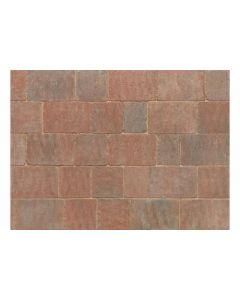 Stonemarket Trident Rumbled Concrete Block Paving-Sierra-120x160x50mm