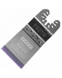 Smart Purple Series Titanium Alloy Bi-Metal Blade 32mm (Pack of 3) - P32TN3