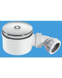 Mcalpine Shower Trap 90mm Flange 50mm Seal - 370ST90CP1070