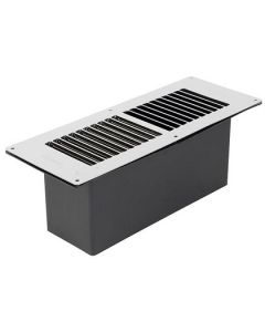 Stadium Floor Ventilator with Chrome Grill - BM435/C