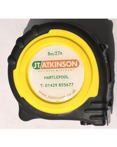 JT Atkinson Tape Measure 8m