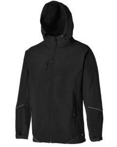 Dickies TwoTone Softshell JW7010  Black/Black XXL