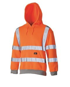 Dickies Hi Vis Hoodie Orange GO/RT - SA2001/SA22090