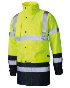 Dickies Hi Vis Two Tone Parka Jacket - SA7004