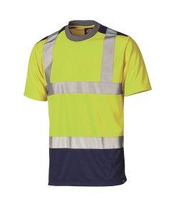 Dickies Hi Viz Two Tone T-Shirt - SA22081