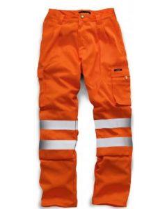 HV023 Standsafe Hi Vis Polycotton Trouser