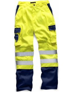 Standsafe HV039 Hi Vis Two Tone Polycotton Trousers