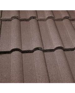 Lagan Double Roll Tile Brown