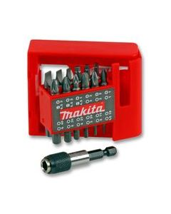 Makita 25 Piece 25mm Screwdriver Bit Set With Magnetic Holder P-49965