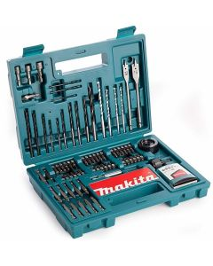 Makita 100 Piece Drill & Screwdriver Bit Set - B53811