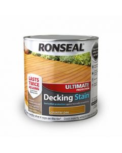 Ronseal Ultimate Protection Decking Stain-2.5 Litres-Charcoal
