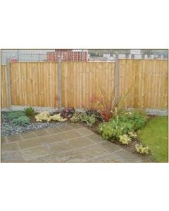 Vertical Board Fencing Panel