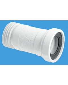 McAlpine WC-F18R Flexible WC Connector (100-160mm)
