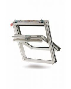 Keylite White Roof Window 550x980mm WFCP02T