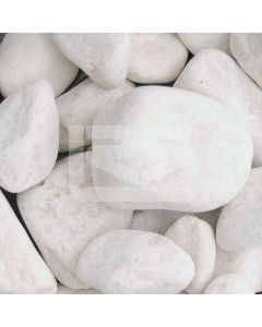 LRS Poly Bag White Cobbles 40-90mm