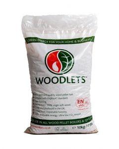 Woodlets (Wood Pellets) 10kg Bag