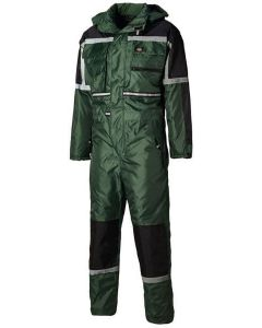 Dickies Waterproof Padded Overall Green M - WP15000