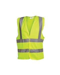 OX Yellow Hi Visibility Vest Large