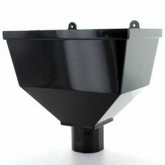 68mm Rainwater Hopper Head Black - BR014