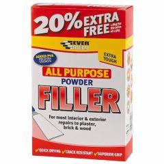 Everbuild Powder Filler 1.5Kg + 20% Free