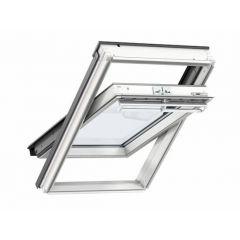 Velux Centre Pivot Roof Window White Painted 78x140cm - GGL MK08 2070