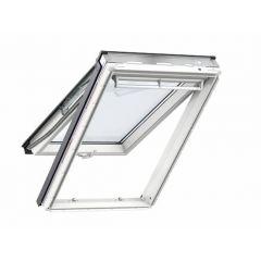 Velux GPU CK06 0070 Top Hung Roof Window White PU 55x118cm