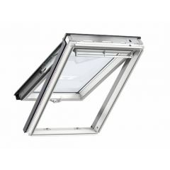 Velux GPL MK04 2070 Top Hung Roof Window White Painted 78x98cm