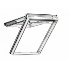 Velux Conservation Top Hung White Painted Window + EDW Flashing 780 x 1400mm GPL MK08 SD5W2