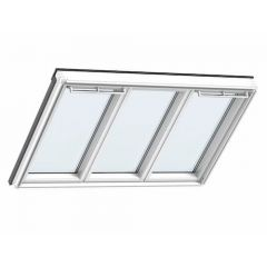 Velux Triple Glazed Studio 3-in-1 Roof Window, 66Pane 1837 x 1178mm