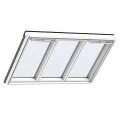 Velux Triple Glazed Studio 3-in-1 Roof Window, 70Pane 1837x1178mm