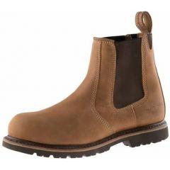 Buckler Safety Dealer Boots Brown B1151SM
