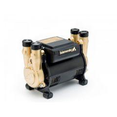 Salamander CTFORCE 30PT Brass Ended Shower Pump, Twin Positive Head 3.0 Bar
