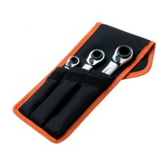Bahco Reversible Ratcheting Spanner Set - S4RM3T
