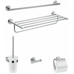 Hansgrohe Logis Universal Extended Bathroom Accessory Pack (5 Pieces) - 41728000