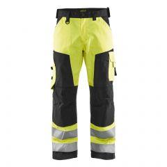 TCBL031P-1-Blaklader-Hi-Vis-Work-Trousers-Yellow